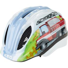 KED Meggy Trend Kask rowerowy Dzieci, fire truck
